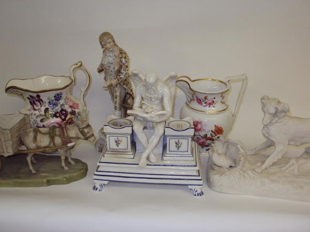 A mixed collection of ceramics