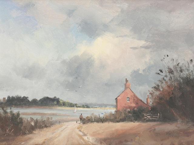 Marcus Ford (British, 1914-1989) Jumbo's Cottage, Snape