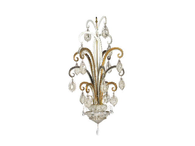 C 2139šn important and monumental CHANDELIER by BAGUES