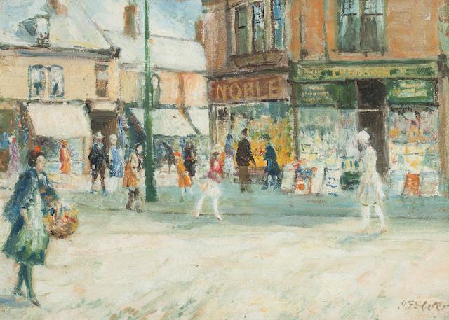 John Falconar Slater (British, 1857-1937) Street scene