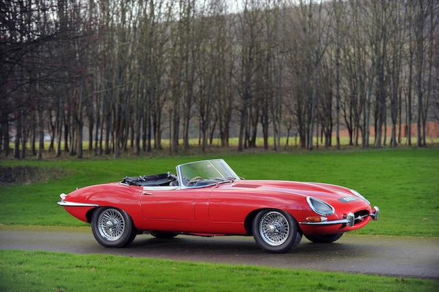 Formerly the property of Sir Elton John,1965 Jaguar XKE 4.2-Litre Series I Roadster  Chassis no. 1E1256 Engine no. 7E4098-9