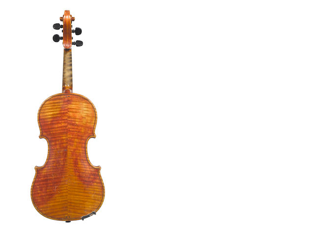 A German Violin by Oskar Krahl, Meerane, 1931  (4)