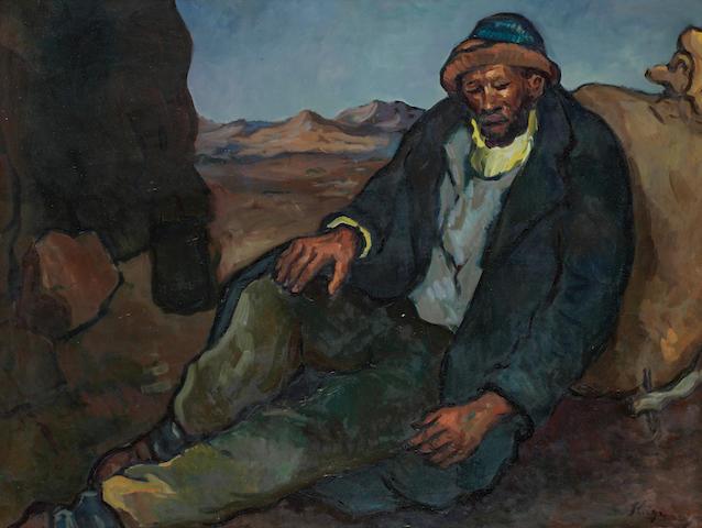 Francois Krige (South African, 1913-1994) Krisjan