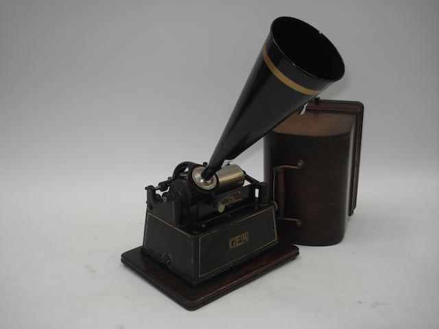 An Edison Gem phonograph, Model B,