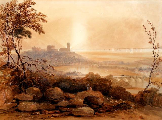 George Sidney Shepherd (British, 1784-1862) 'Lancaster in 1848'