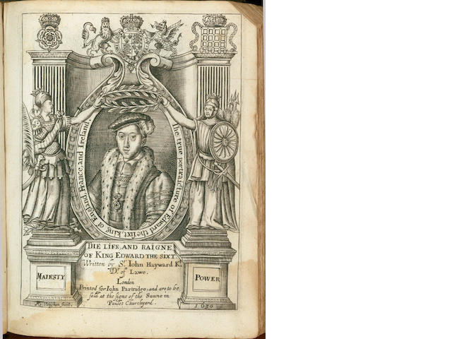 HAYWARD (JOHN)] The First Part of the Life and Raigne of King Henrie the IIII, 1599[but 1629]; bound with Life of King Edward, 1630, 2 works in one