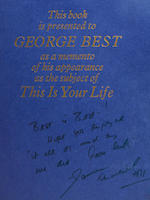 1971 'This is your life' book - George Best
