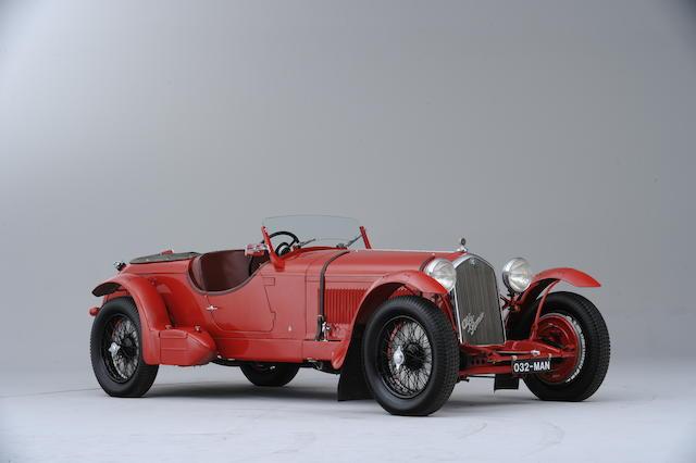 The Ex-Works Le Mans 24-Hour race, Sir Henry 'Tim' Birkin/Earl Howe, Italo Balbo, Johnny Wakefield,1932 Alfa Romeo 8C-2300 Spyder Lungo  Chassis no. 2211065 Engine no. 2211065