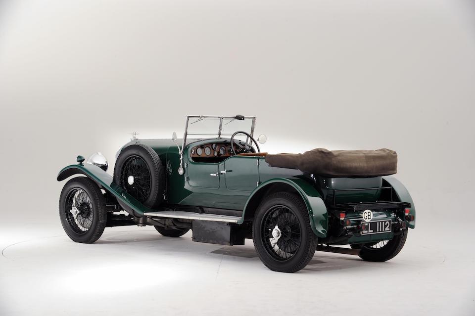 The Ex-Maharajah of Bhavnagar,1929 Bentley 4½-Litre Four-Seat Tourer  Chassis no. NX 3452 Engine no. NX 3454