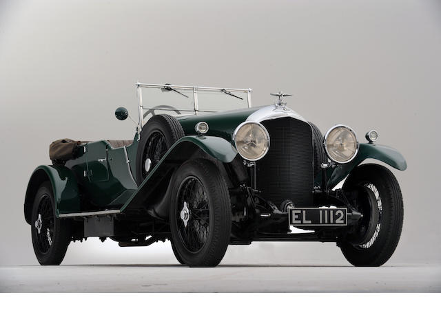 1929 Bentley 4 1/2-Litre Four Seat Tourer