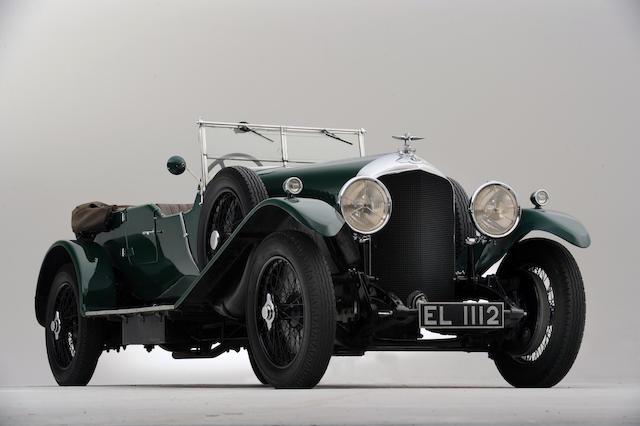 1929 Bentley 4 1/2-Litre Four Seat Tourer