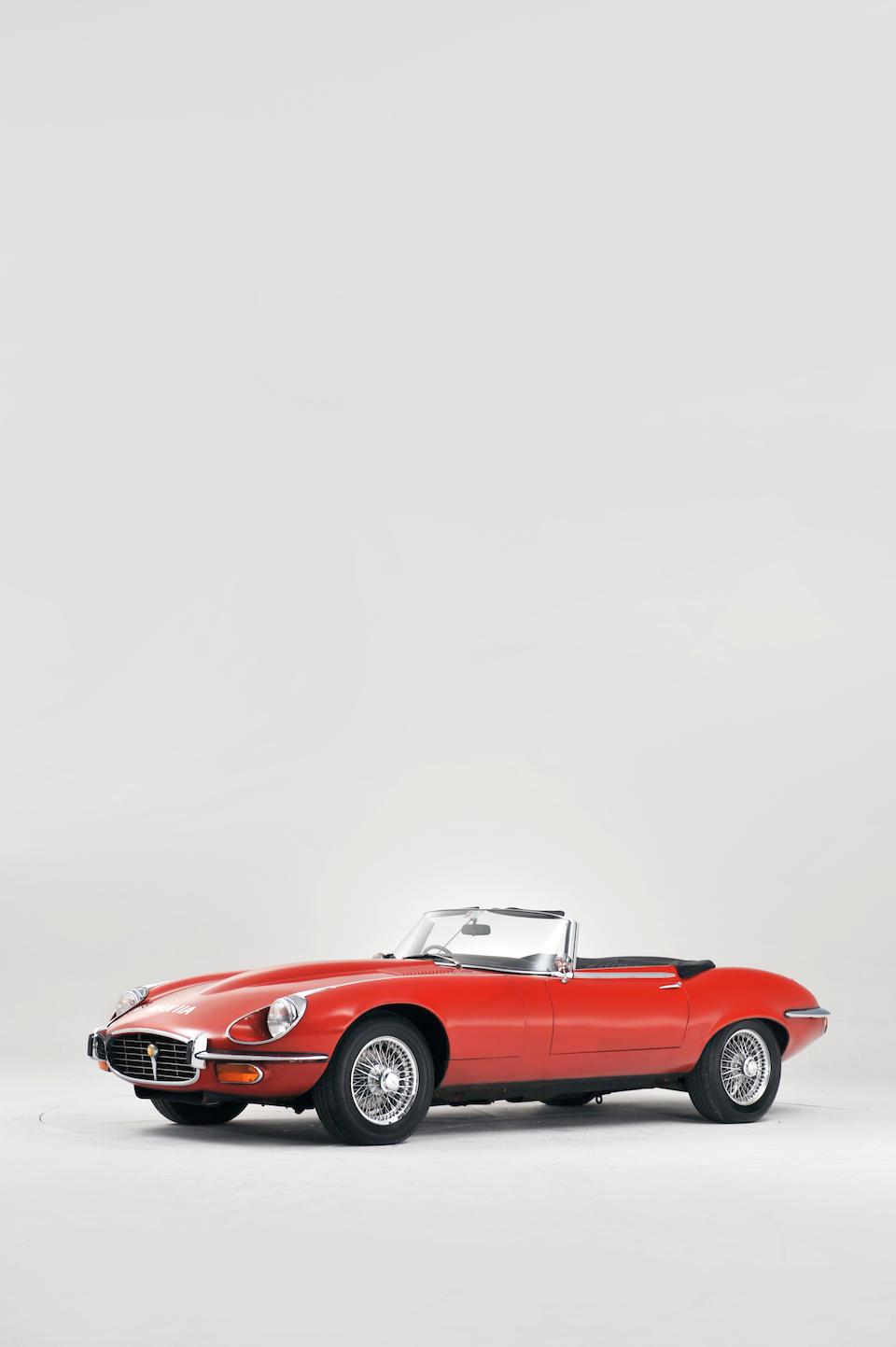 1974 Jaguar E-Type Series III V12 Roadster  Chassis no. IS 2345 Engine no. 7S 13121 SA