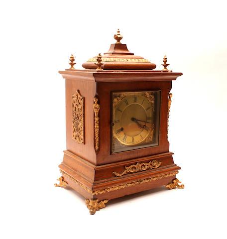 An Edwardian mantel clock