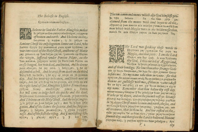 AELFRIC, Abbot of Eynsham A Saxon Treatise Concerning the Old and New Testament, 1623; and 12 others (13)