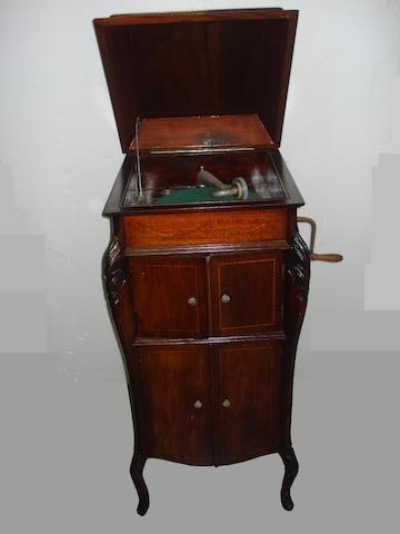 A good cabinet gramophone, circa 1920,