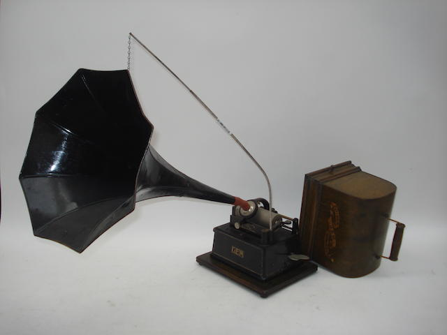 An Edison Gem phonograph, Model A,