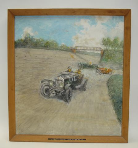 S C H Davis, '1927 Brooklands Six Hour Race',