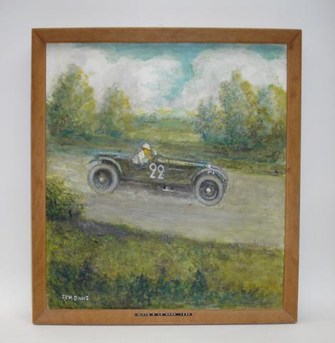 S C H Davis, 'Alvis 8 Le Mans 1929',