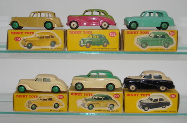 Dinky Saloon cars 6