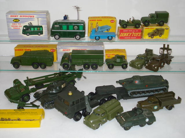 Dinky, Tekno, Solido Military Dinky BBC vehicle lot