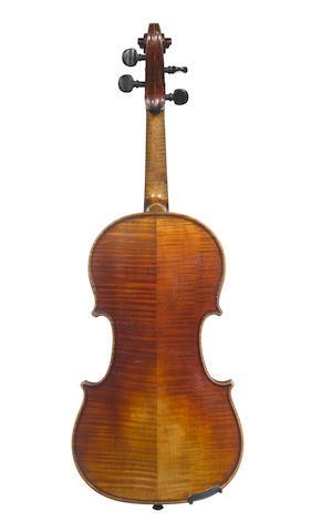 An Irish Violin by Richard Guiton, Cork,  1893 (2)