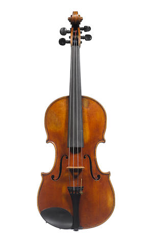 Violin labelled by Enrico Rocco