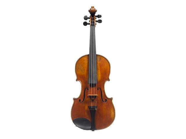 An Italian Violin attributed to Enrico Rocca, Genova 1894 (2)