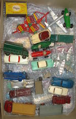 Dinky cars and trucks lot