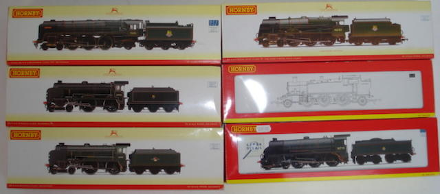 Hornby Railways steam locomotives 12