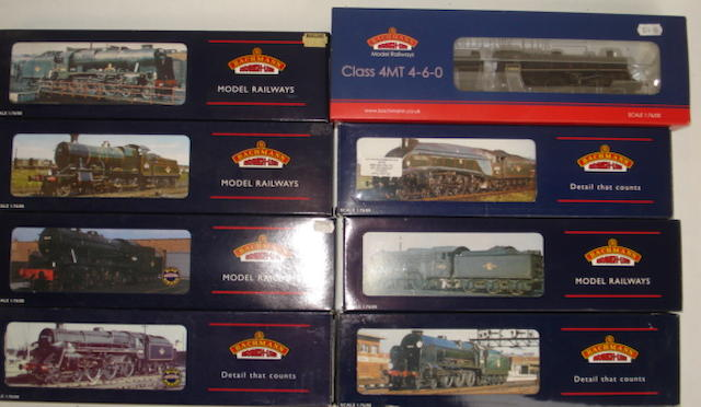 Bachmann steam locomotives lot