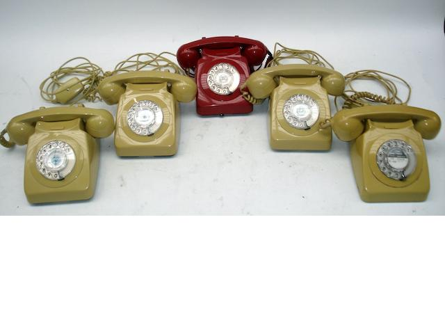 700-series telephones: various colours,