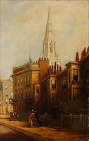George Chambers, Jnr. (British, b. 1830) Hercules Buildings, Lambeth