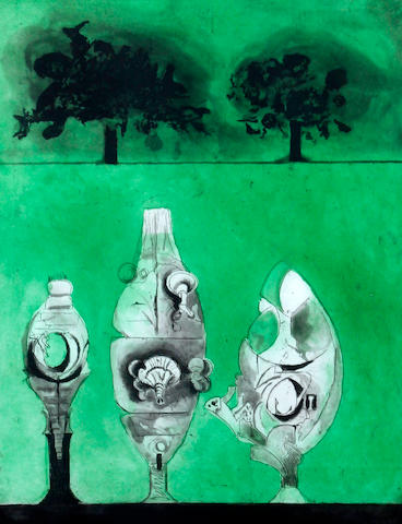 Graham Sutherland O.M. (British, 1903-1980) 'Three Urns'