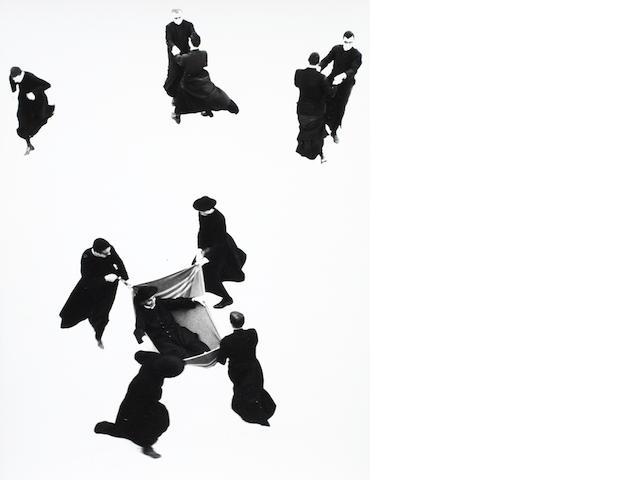 Mario Giacomelli (Italian, 1925-2000) Untitled, from 'Io non ho mani che mi accarezzino il volto', Senigallia, 1961-63 39.8 x 30.5cm (15 11/16 x 12in).