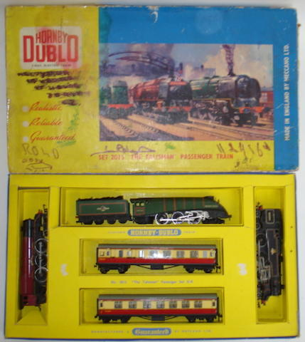 Hornby Dublo LNER Tank Goods set and Tailisman passenger train set lot