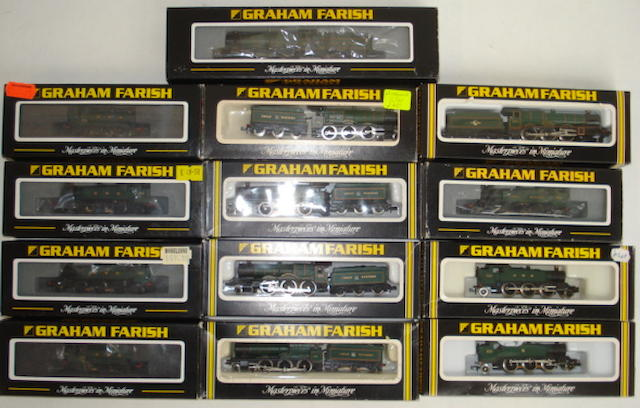 N gauge Graham Farish GWR locomotives 13