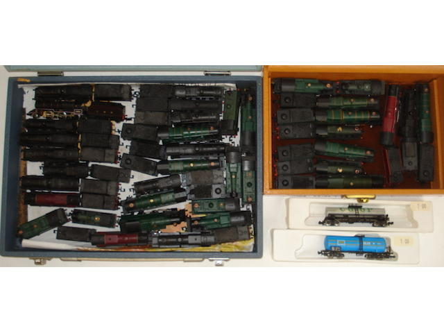 N gauge locomotives