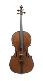 An Italian Violoncello, attributed to Vincenzo Postiglione, Naples, 1883 (4)