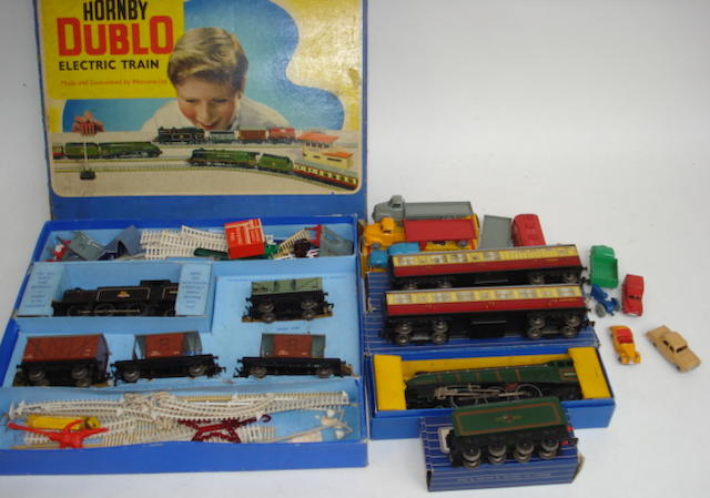 Hornby Dublo and Dinky Dublo lot