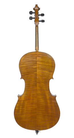 A French Cello of the Colin Mezin School, circa 1900 (4)