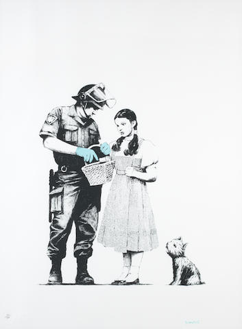 Banksy (b. 1975) Stop and Search
