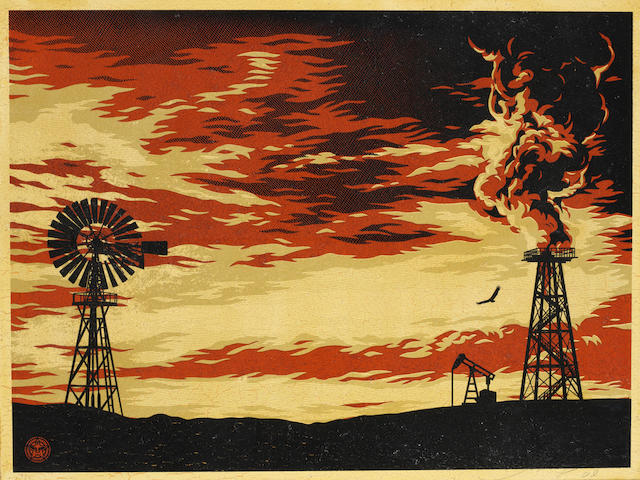 Shepard Fairey (b.1970), Untitled