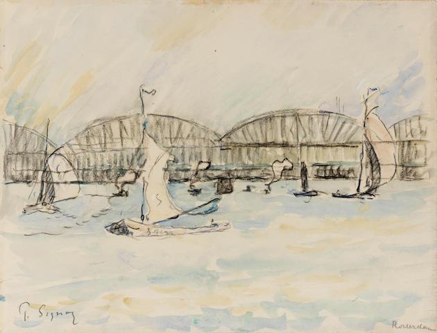 Paul Signac (1863-1935) Rotterdam