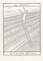 BOOKPLATES. The bookplate collection of the Late Arthur W. Dorling, arranged in 21 volumes containing a total of some 6,000 plates, A FINE AND EXTENSIVE COLLECTION