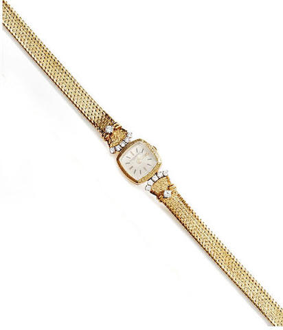 Vacheron Constantin: A lady's diamond set wristwatch