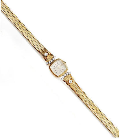 Vacheron Constantin: A lady's diamond set wristwatch