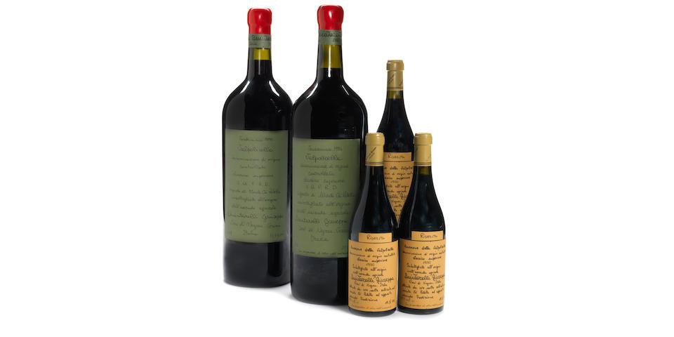 Valpolicella Classico Superiore, Vigneto di Monte Cà Paletta 1994 (1)<BR />Valpolicella Classico Superiore, Vigneto di Monte Cà Paletta 1995 (1)