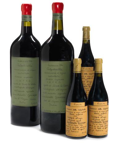 Valpolicella Classico Superiore, Vigneto di Monte Cà Paletta 1994 (1)  Valpolicella Classico Superiore, Vigneto di Monte Cà Paletta 1995 (1)
