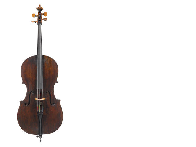 An English Cello  circa 1750 (2)