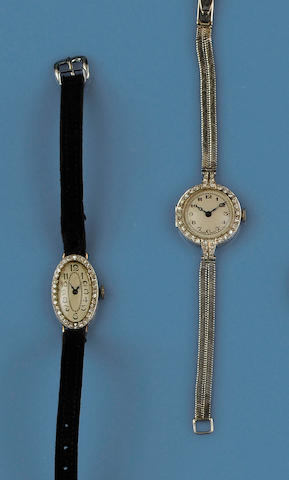 Two cocktail watches